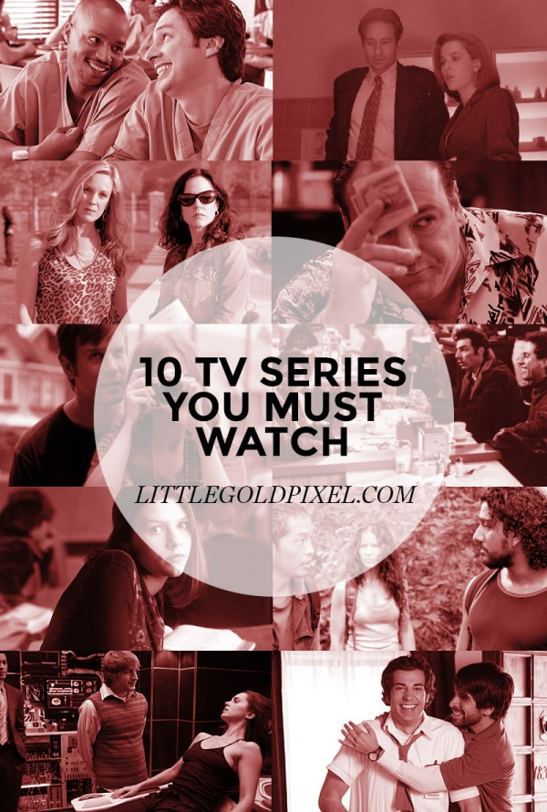 10 TV Series You Must Watch • Little Gold Pixel
