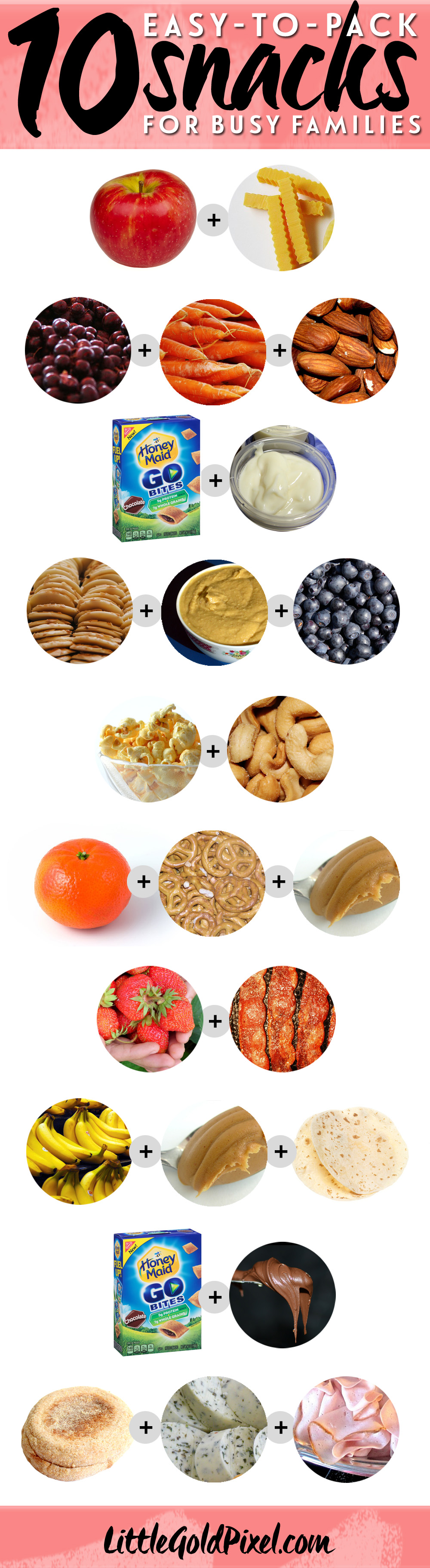 10 Easy Snacks to Pack for Busy Families •Little Gold Pixel