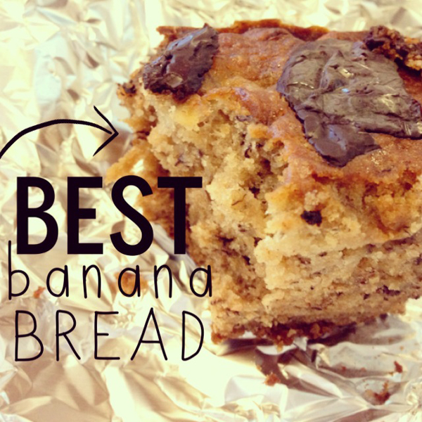 Best Banana Bread Recipe Ever • Little Gold Pixel