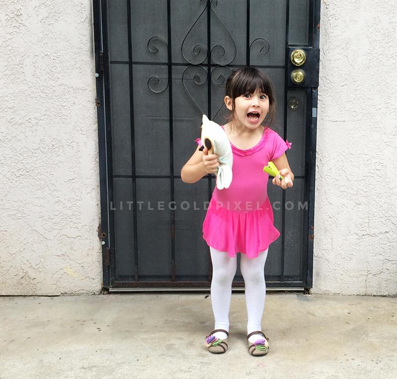 Alexa's 4-Year-Old Photoshoot • kid birthday photo shoot ideas • Little Gold Pixel