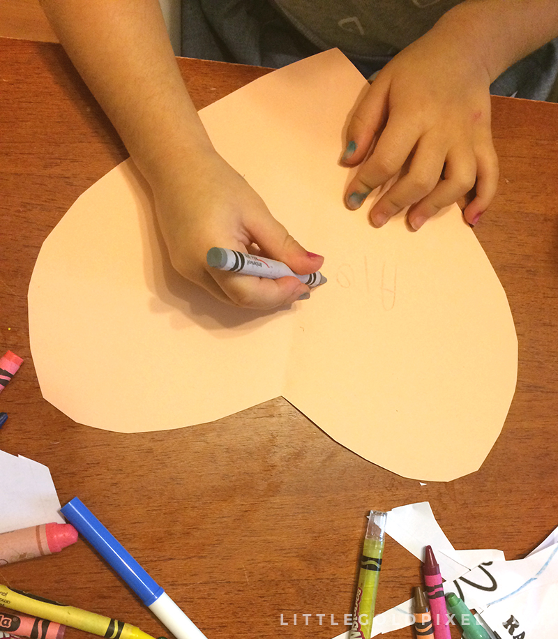 DIY: Homemade Heart Valentines •Little Gold Pixel