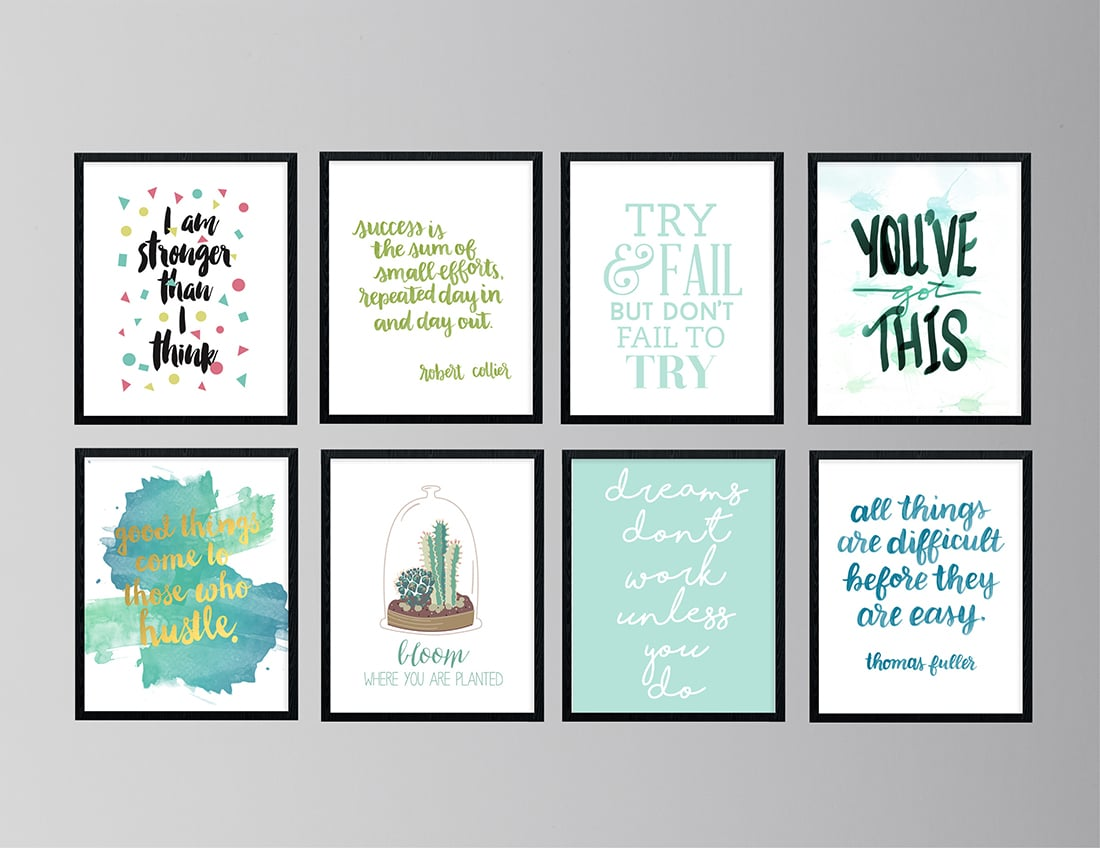 30 Free Inspirational Quotes to Help You Kill It This Year • Little Gold Pixel