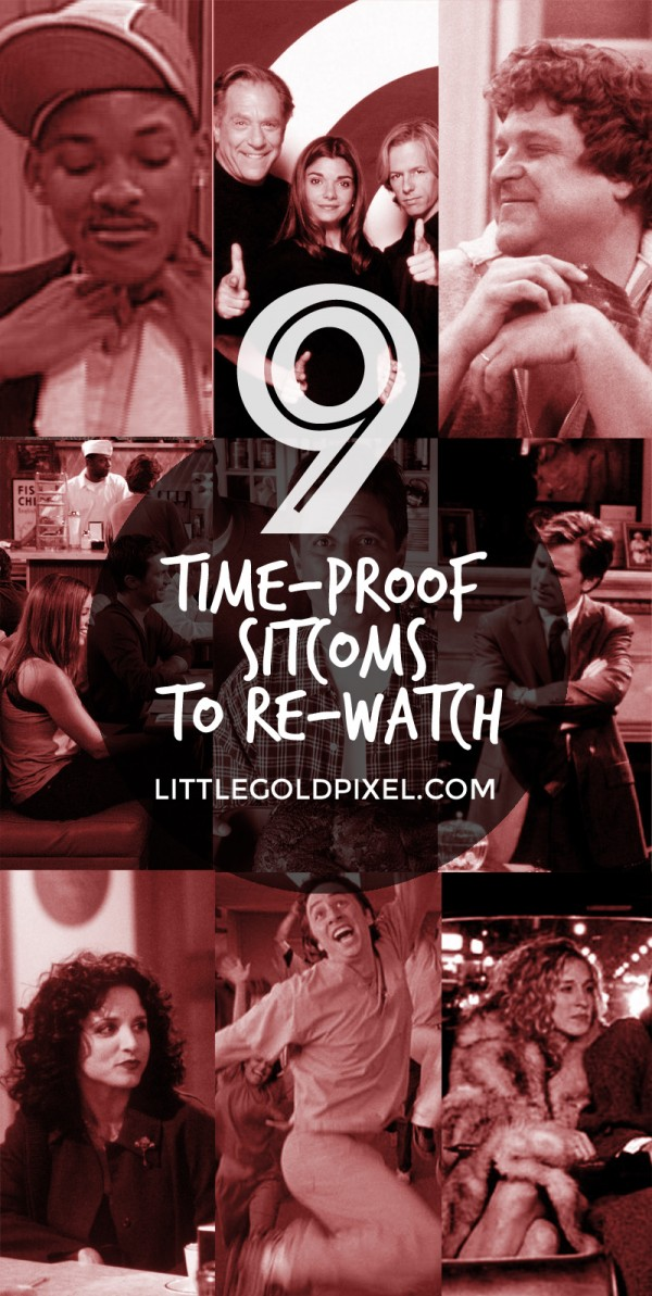 9 Time-Proof Sitcoms You Can Binge Watch • littlegoldpixel.com