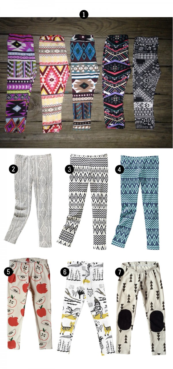 Cool Kid's Guide to Leggings • Little Gold Pixel