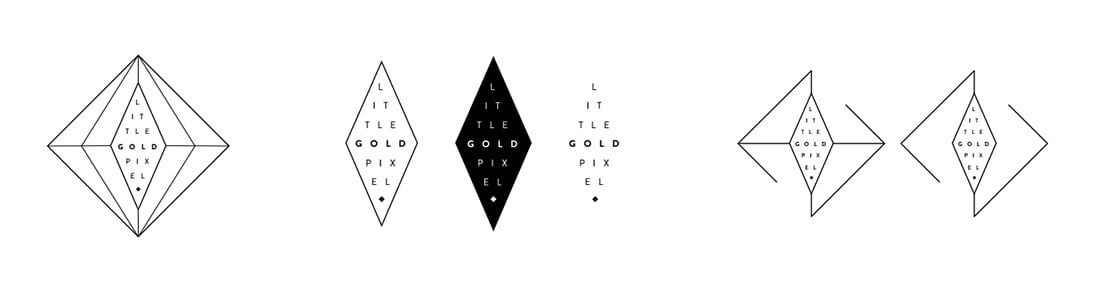 Brand Design: From Bland to Bling • Brand Identity Behind the Scenes • Little Gold Pixel