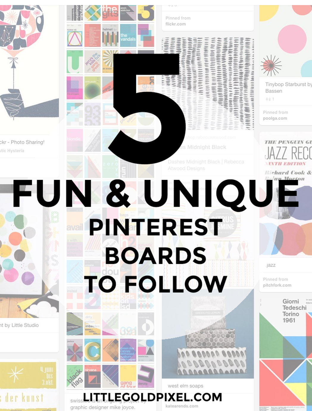 Fun & Unique Pinterest Boards to Follow • Little Gold Pixel