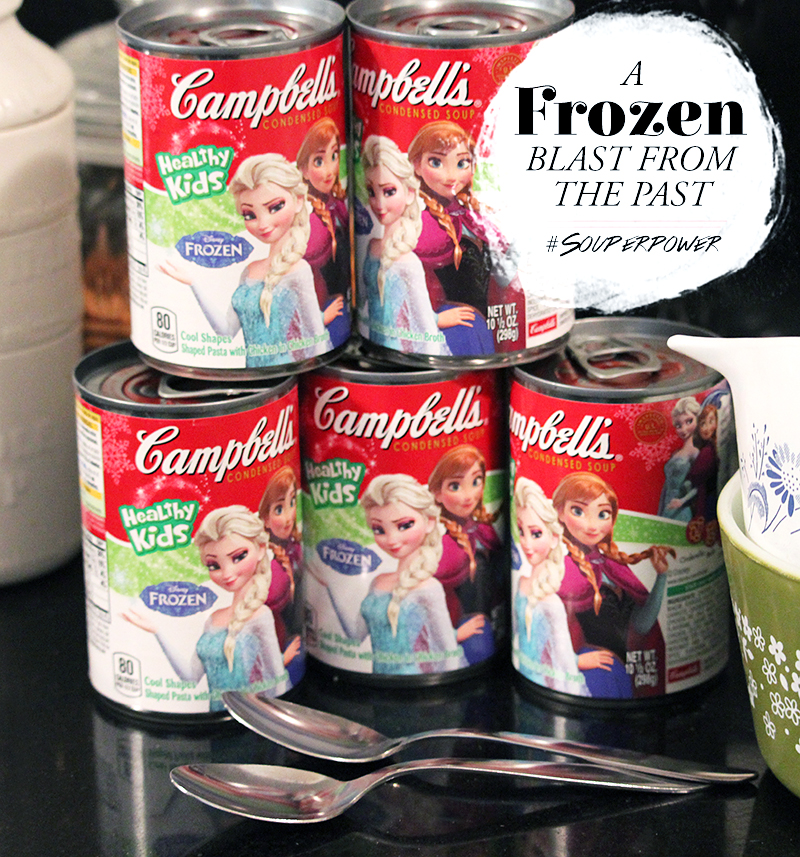 Frozen Blast From the Past •Little Gold Pixel •Campbell's® Condensed Soup •#SouperPower