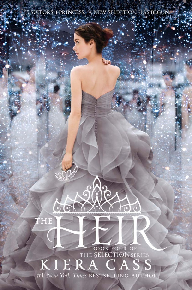 The Heir Book Cover • The Selection YA Book Giveaway + Review • Little Gold Pixel