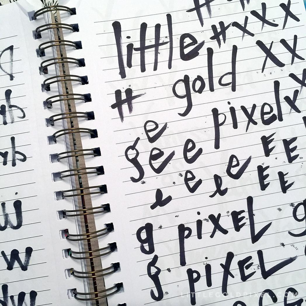 Weekly Pixels 2015 • No. 25 • littlegoldpixel.com