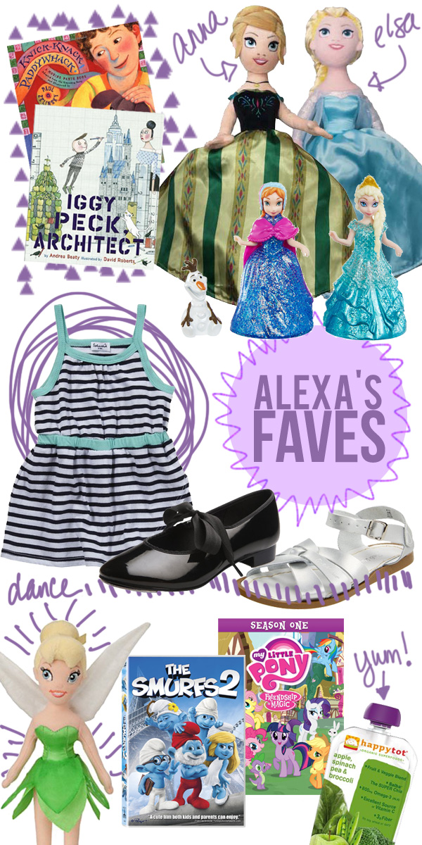 Gift Ideas for Little Girls Summer 2014 • Little Gold Pixel