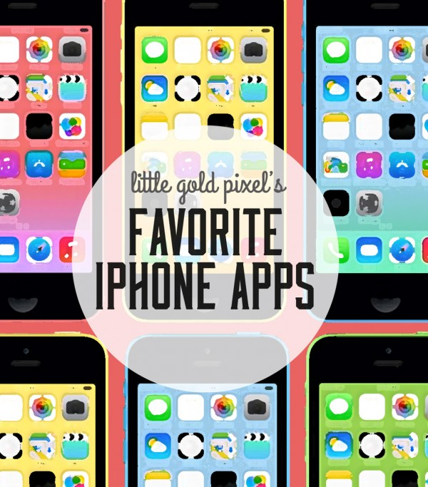 Favorite iPhone Apps 2014 • Little Gold Pixel