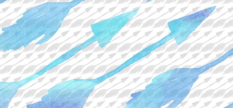 Arrow Pattern Free Art Printables •Little Gold Pixel