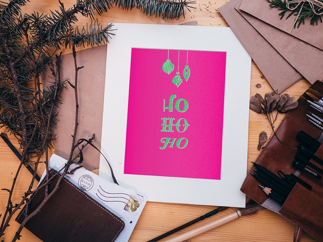 An Atomic Christmas Freebie to Make Your Holiday Bright • Little Gold Pixel