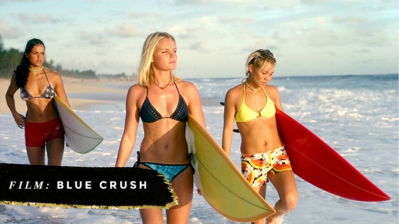 Beach Movies I Want to Live In • Blue Crush • Little Gold Pixel