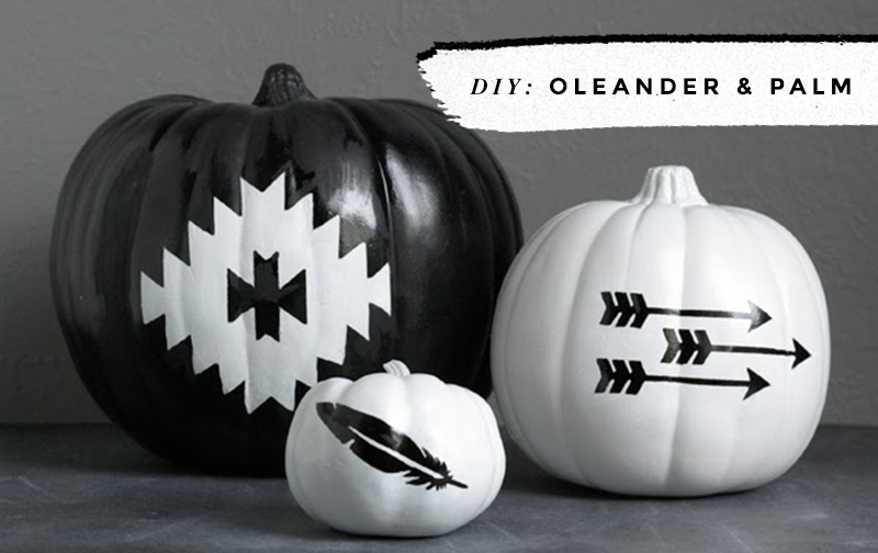 Black White Pumpkins No Carve Ideas Little Gold Pixel