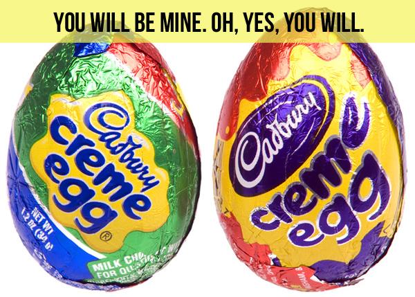 Cadbury Eggs / Little Gold Pixel