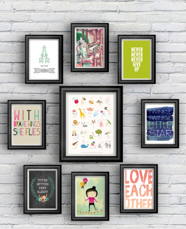 30 free printables for kids rooms little gold pixel - Printables Kids