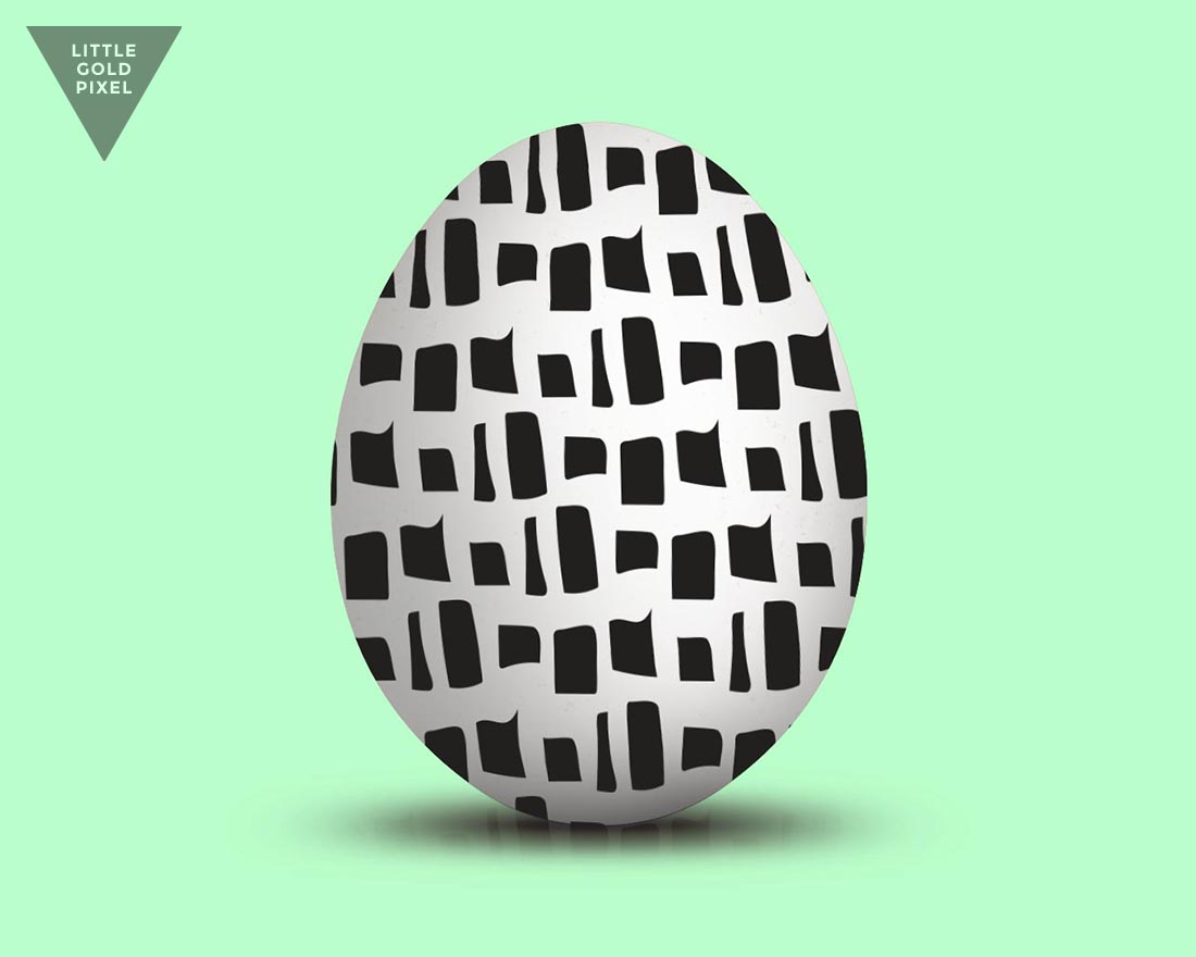 8 Free Easter Egg Sharpie Patterns • Little Gold Pixel