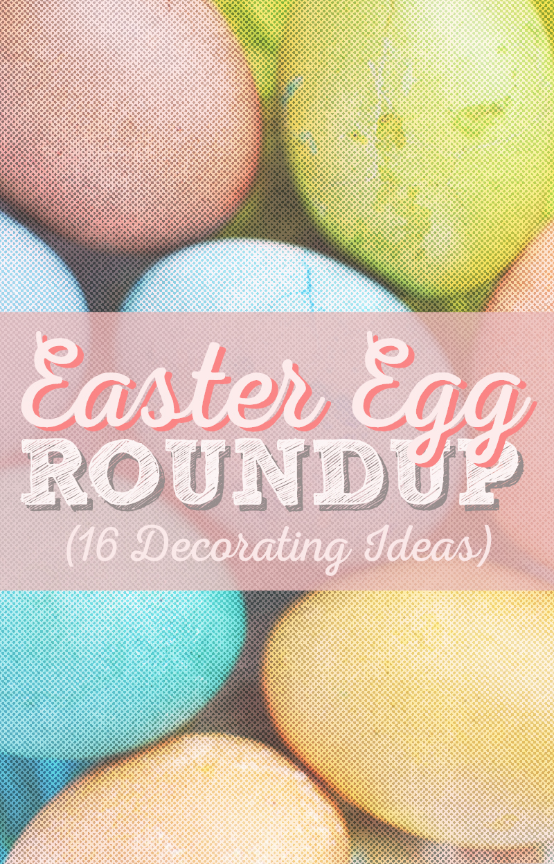 Easter Egg Roundup • 16 Cute Designs • Little Gold Pixel
