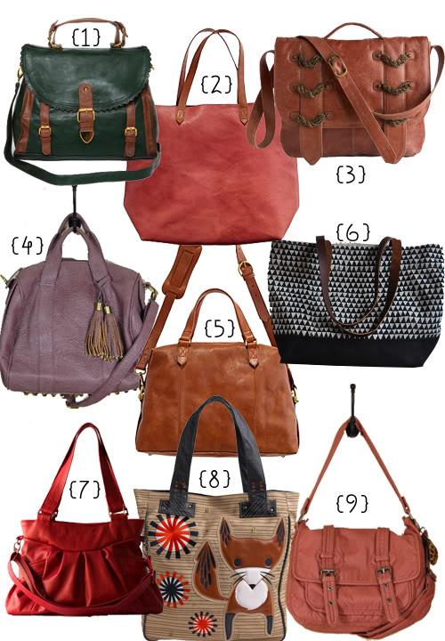 Handbags for Fall • Little Gold Pixel