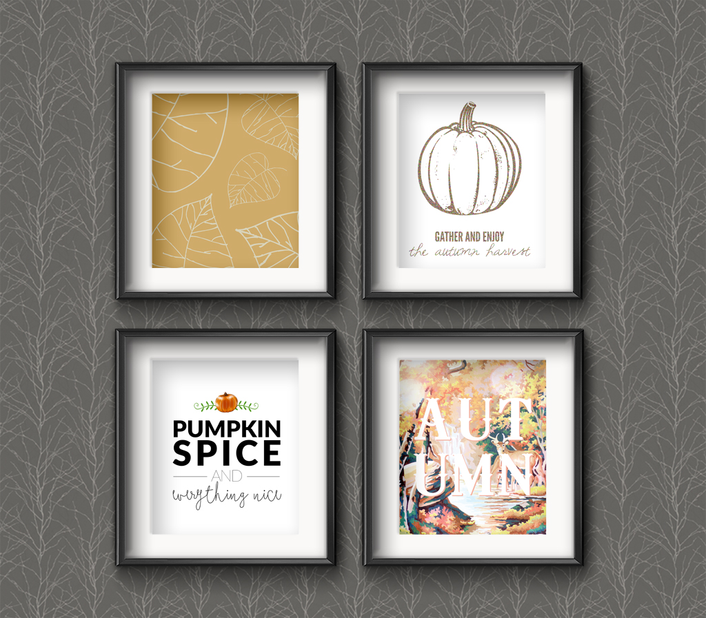 20 Awesome Free Fall Printables •Little Gold Pixel