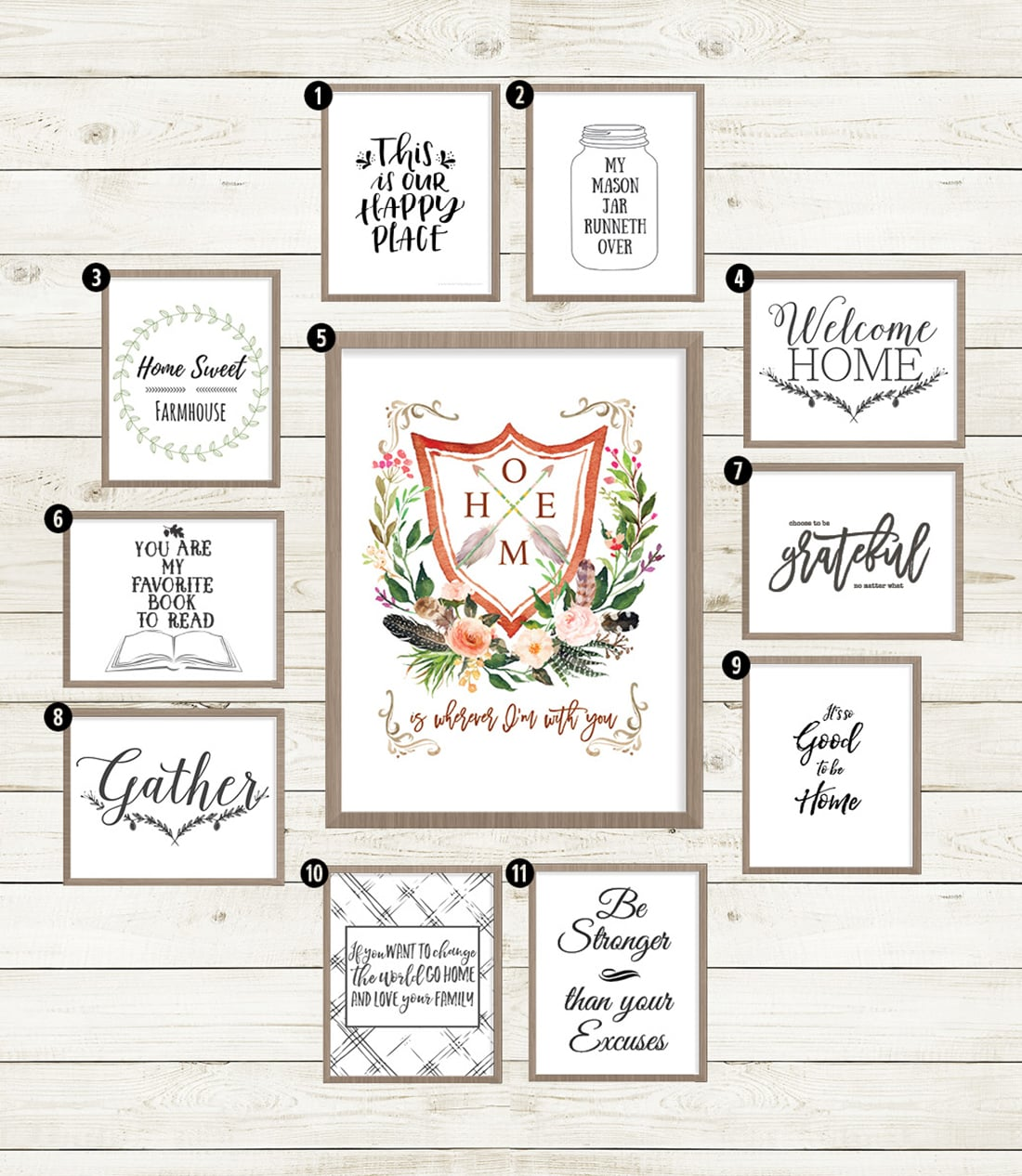 picture relating to Printable Farmhouse Signs named 40+ Cost-free Farmhouse Printables for that Fixer Higher Vibe