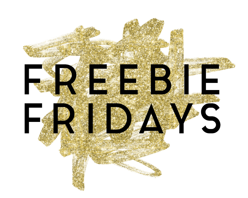 Freebie Fridays • Little Gold Pixel