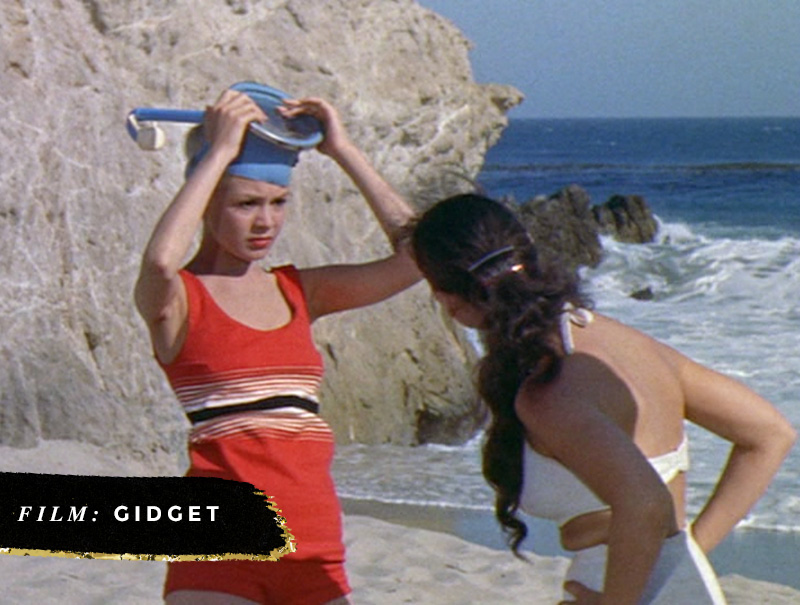 Beach Movies I Want to Live In • Gidget • Little Gold Pixel