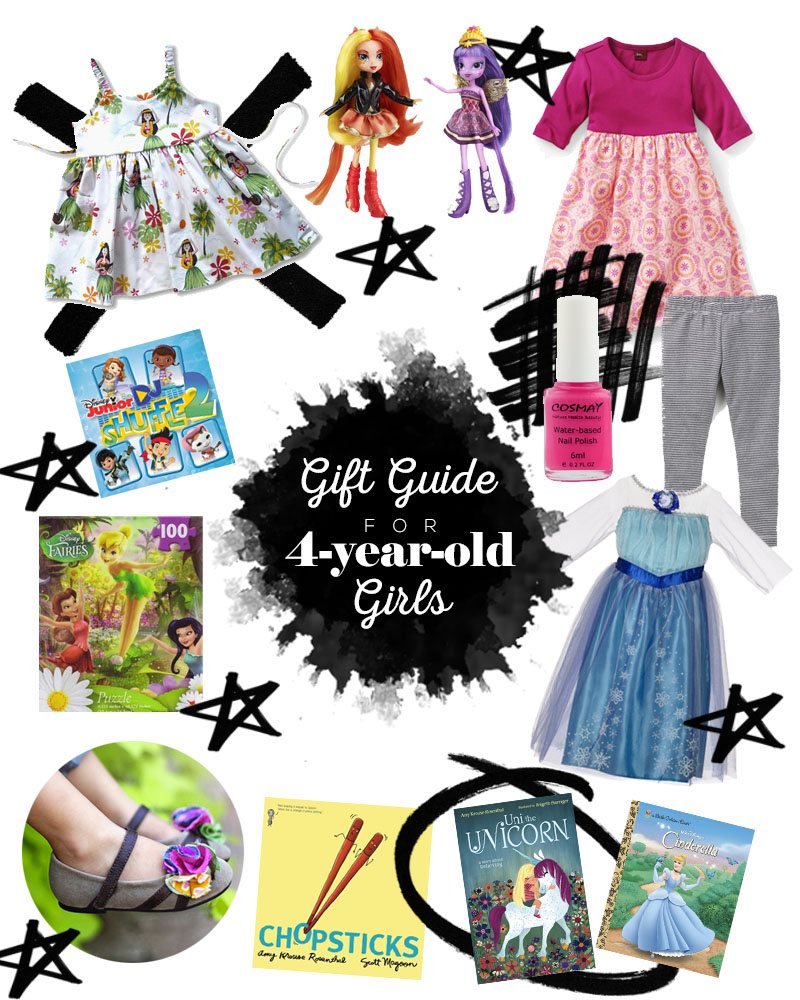 Gift Guide 4-year-old Girls • Little Gold Pixel.com