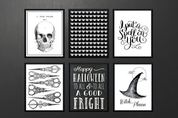 Free Halloween Printables Roundup Vol. 2 • Little Gold Pixel