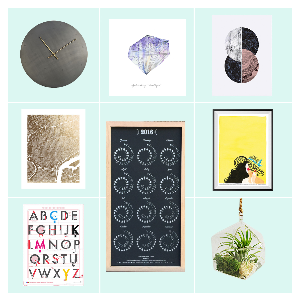 Ultimate Wall Art Gift Guide • Little Gold Pixel