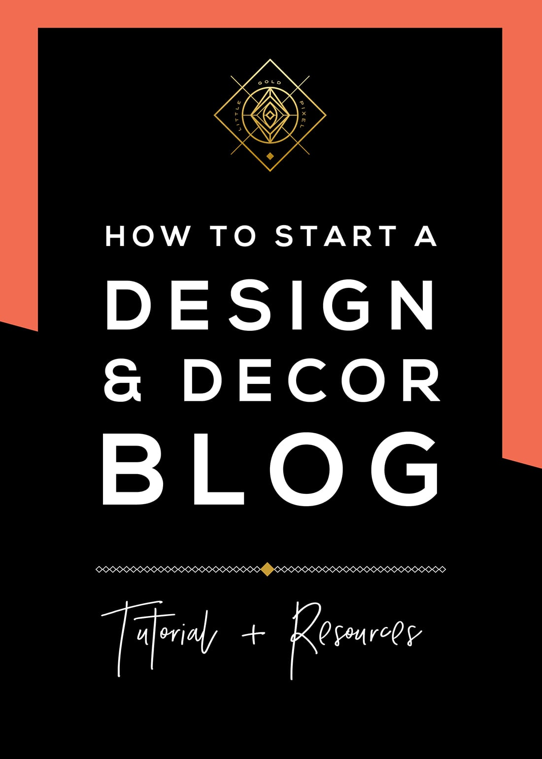 How to Start a Blog (Learn from My Mistakes) • Little Gold Pixel