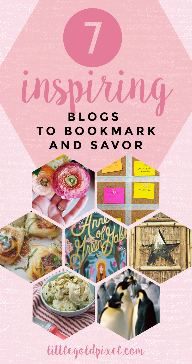 7 Blogs to Bookmark & Savor •Little Gold Pixel