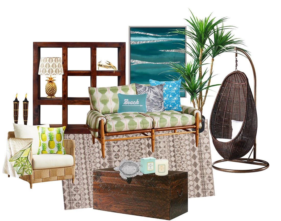 Modern Moana Decor: How to Decorate with an Island Vibe • Little Gold Pixel
