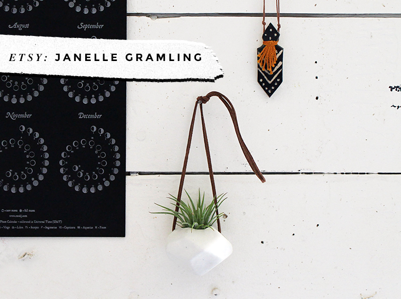 8 Awesome Air Plant Hangers • Little Gold Pixel • Janelle Gramling