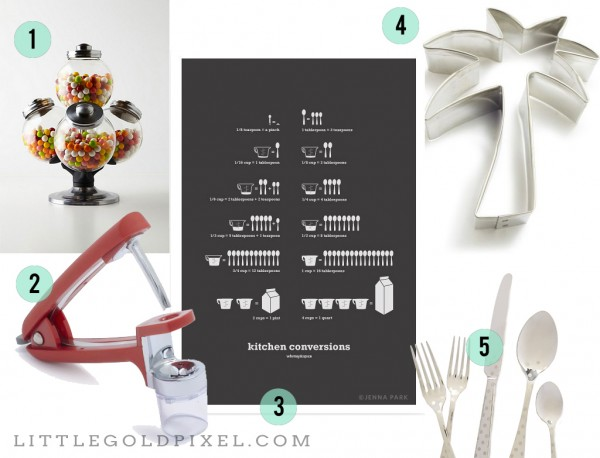 10 Cool Kitchen Gadgets and Goodies • Little Gold Pixel