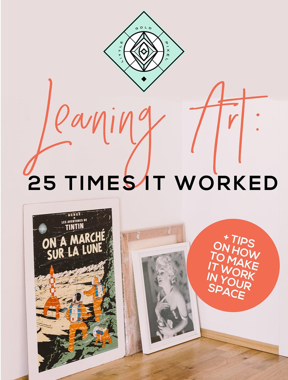 Leaning Art: 25 Times It Worked •Little Gold Pixel