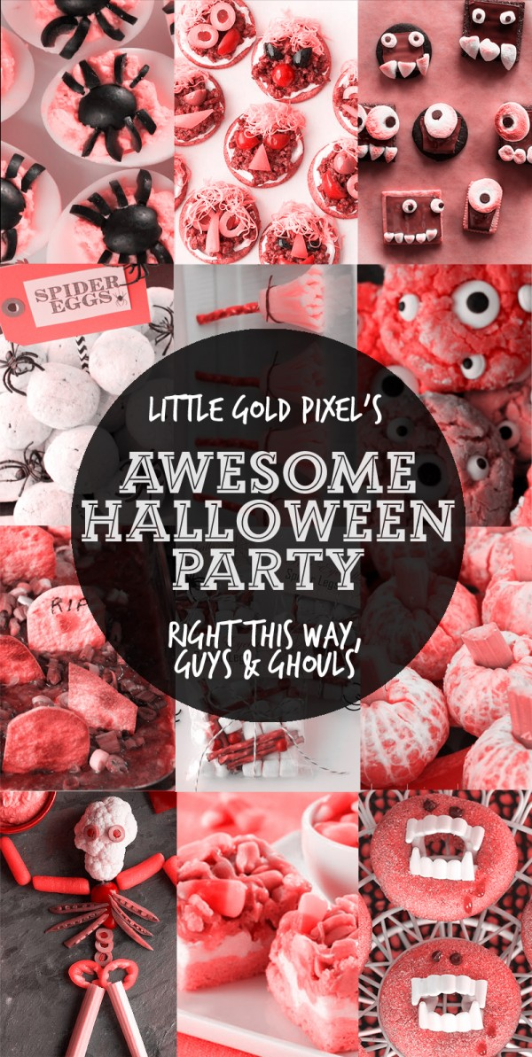 13 Awesome Halloween Party Recipes • Little Gold Pixel