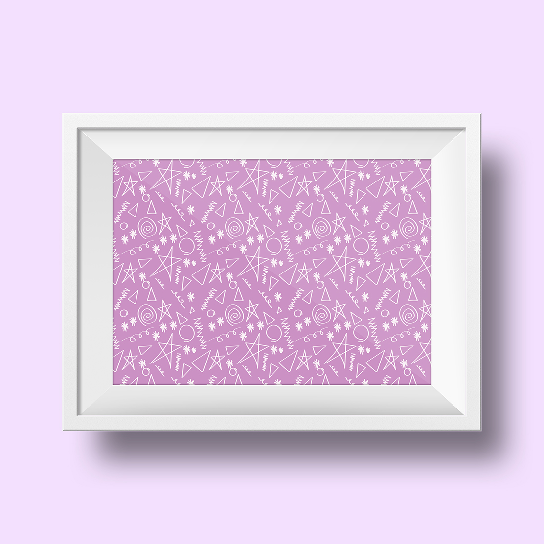 1980s Doodle Pattern Art Printables / Freebie Fridays • Little Gold Pixel