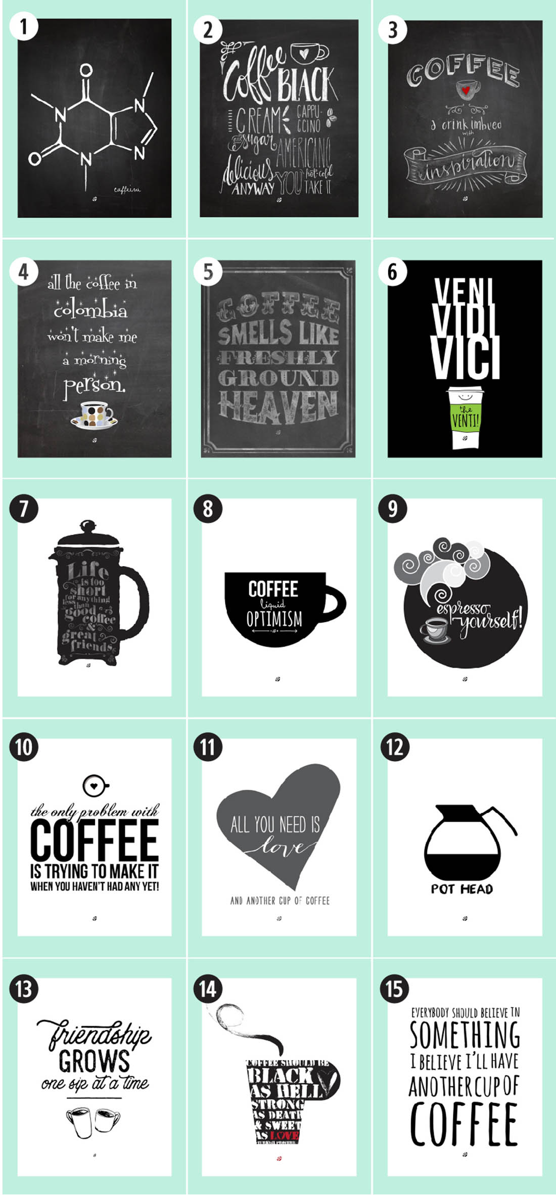 coffee free printables 180 ultimate guide u2022 little gold pixel