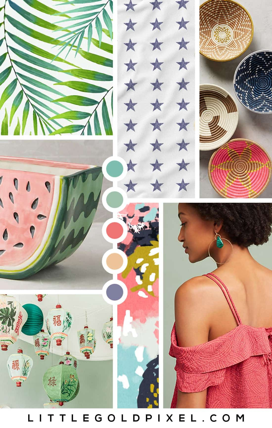 Color Crush: Watermelon Color Palette • Little Gold Pixel