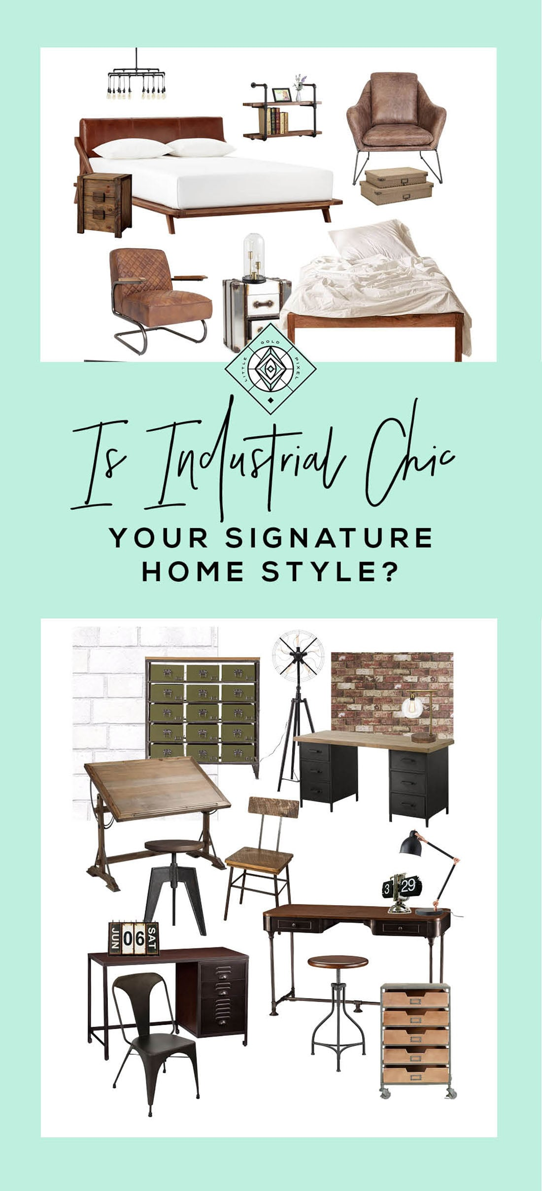 Industrial Decor Is It Your Signature Style Little