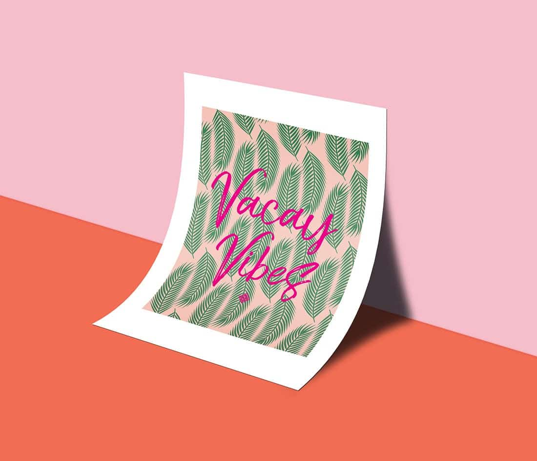 2 Tropical Leaves Free Printables + A Creativity Hack • Little Gold Pixel