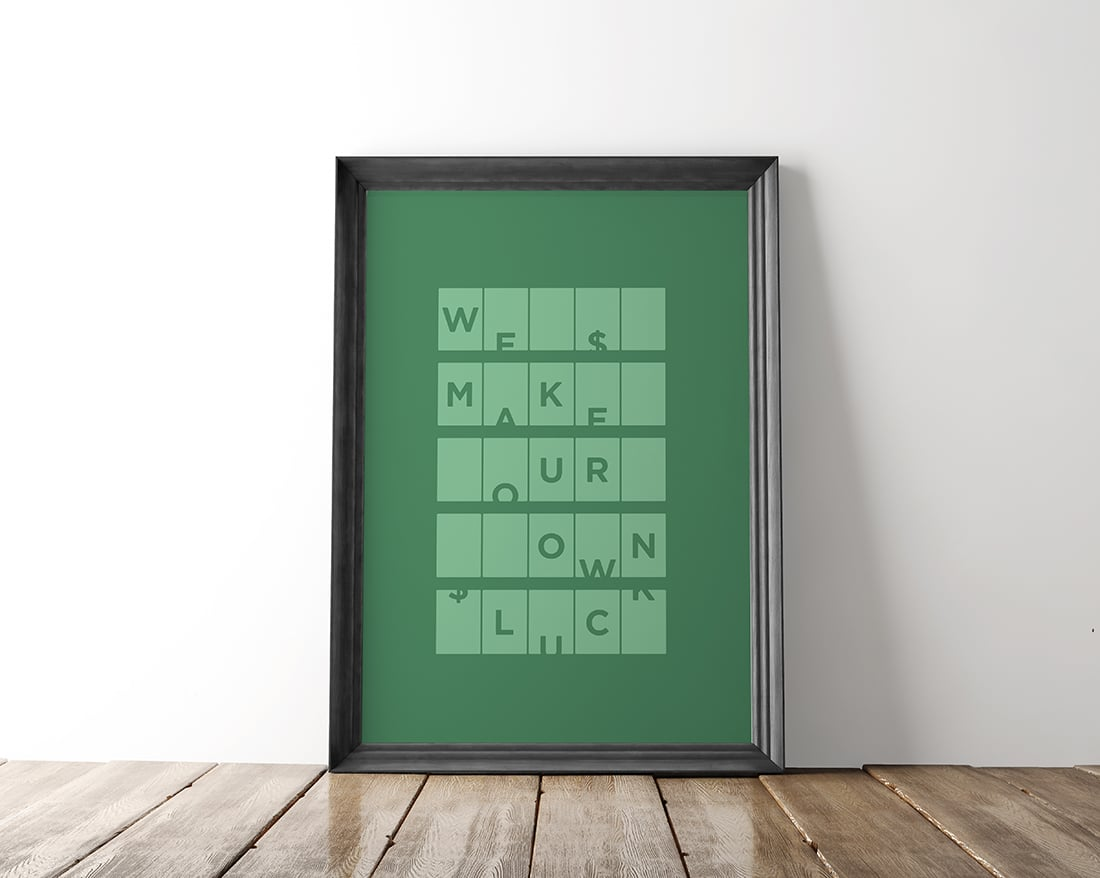 Free St. Patrick's Day Art Printable • Little Gold Pixel