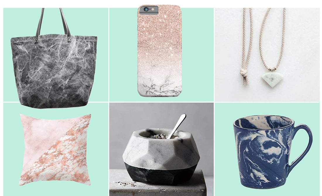 Trend Spotting: 20 Ways to Rock the Marble Trend • Little Gold Pixel