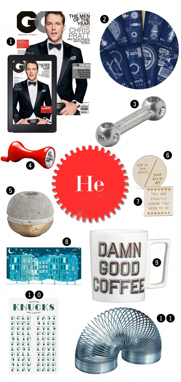 Ultimate $5 Holiday Gift Guide for 2014• Stylish, affordable gifts for men, women and children for $5 or less •littlegoldpixel.com