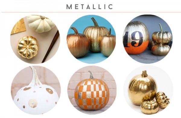 Easy Halloween No-Carve Pumpkins • Little Gold Pixel
