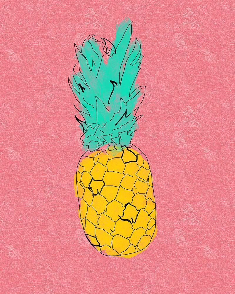 Pineapple Free Printable •Little Gold Pixel
