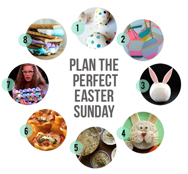 Plan the Perfect Easter Sunday // Little Gold Pixel