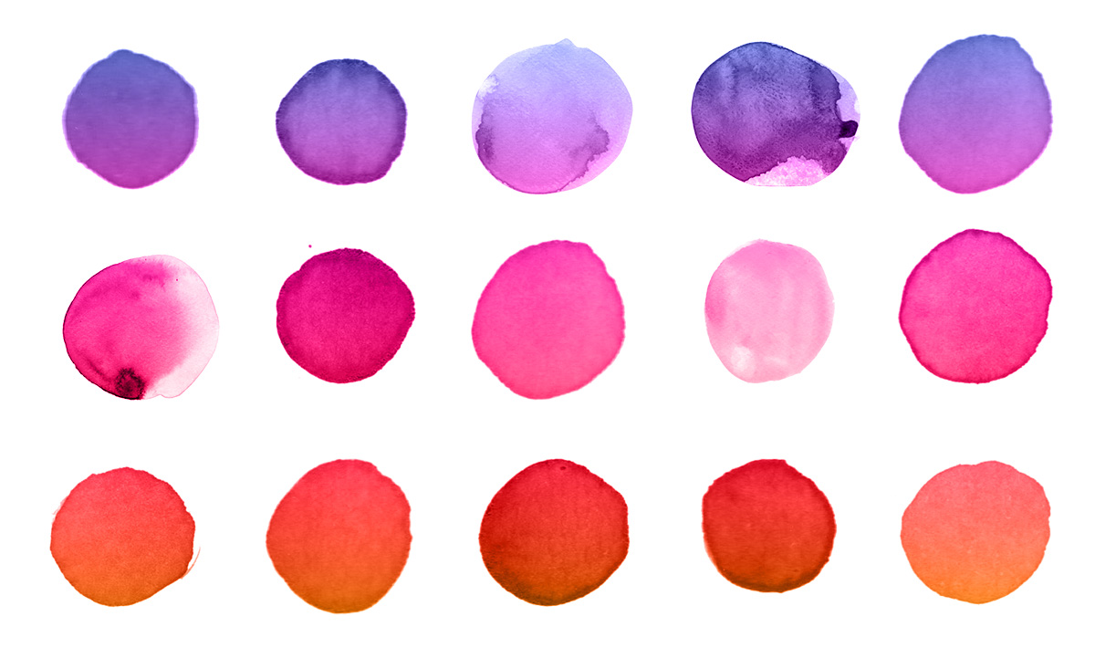 Abstract Rainbow Free Art Printable / Freebie Fridays • Little Gold Pixel